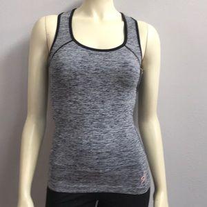 Tops - Heather Gray Racerback  Workout tank top